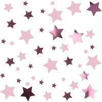 Kleiner Stern Konfetti in rosa/pink