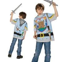 Spieleshirt Ritter mit tollen Applikationen