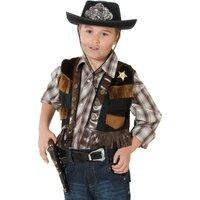 Weste für Sheriffkostüm Kinder