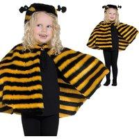Bienchen-Cape für tolles Kinder-Bienenkostüm