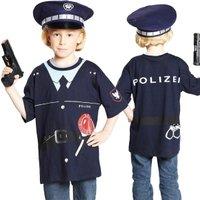 Polizeishirt - Spieleshirt für Mottoparty und Fasching