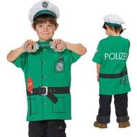 Spieleshirt Polizei mit Details