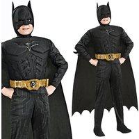 Batman Deluxe Faschingskostüm: Muskel-Brust