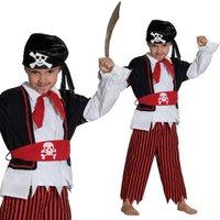 Piratenkostüm für Kinder 3-teilig