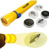 Projektor-Taschenlampe Weltall 17cm