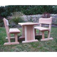 edumero Outdoor-Sitzgarnitur Erwachsene Ausführung Tisch