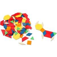 Betzold Pattern-Blocks aus Kunststoff oder Holz Groesse 3 mm stark (Kunststoff)