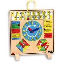 edumero Kalendertafel aus Holz