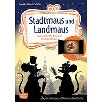 Don Bosco Stadtmaus und Landmaus - Schattentheater-Set