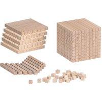 Betzold Zehnersystem-Teile aus Holz Ausführung 1 Tausenderblock