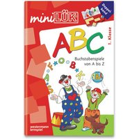 miniLÜK ABC Doppelband: Buchstabenspiele von A-Z