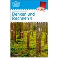 LÜK-Heft: Denken und Rechnen 4. Klasse