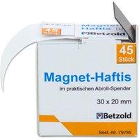 Betzold Magnet-Haftis im praktischen Abroller