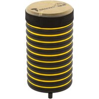 Trommus-Drums Standtrommeln Groesse gelb - Höhe 31 cm. Ø 17 cm