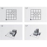 Betzold Cubo-Karten Ausführung Set 5 (max. 33 Würfel)