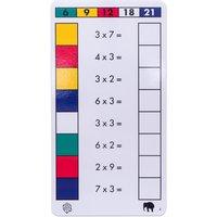 edumero Cube Control Einmaleins - Aufgabenkarten Ausführung 3er/6er/9er Einmaleins