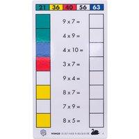 edumero Cube Control Einmaleins - Aufgabenkarten Ausführung 4er/7er/8er/9er Einmaleins