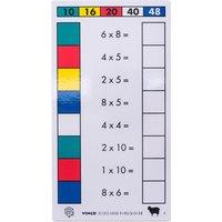 edumero Cube Control Einmaleins - Aufgabenkarten Ausführung 2er/5er/4er/8er Einmaleins
