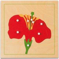 edumero Botanisches Puzzle Ausführung Blüte