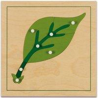 edumero Botanisches Puzzle Ausführung Blatt