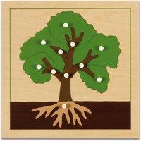 edumero Botanisches Puzzle Ausführung Baum