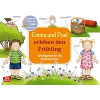 Don Bosco Emma und Paul erleben den Frühling. Spielfiguren für die Erzählschiene