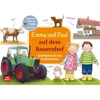 Don Bosco Emma und Paul auf dem Bauernhof Spielfiguren für die Erzählschiene