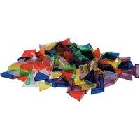 edumero Transparente ECKO-Legesteine: große Dreiecke