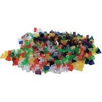 edumero Transparente ECKO-Legesteine: kleine Dreiecke