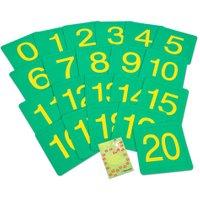 edumero Zahlenfelder von 0 - 20 Ausführung mit Box