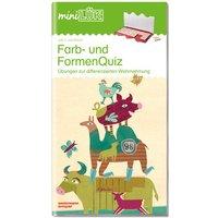 miniLÜK - Farb- und Formenquiz 1: Der Fitmacher für Vorschulkinder