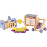 edumero Puppenhaus Babyzimmer