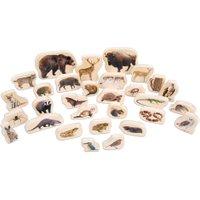 edumero Waldtier-Set aus Holz