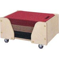edumero Boden-Sitzmatten mit Wagen