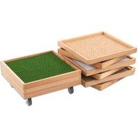 Estia Holzspielwaren Fühl-Kisten-Set