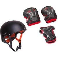 Hudora Protection-Set: Helm inkl. Protektoren Groesse M