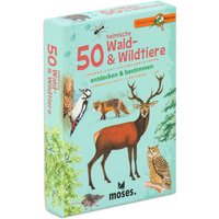 Moses Expedition Natur 50 heimische Wald- & Wildtiere