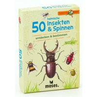 Moses Expedition Natur 50 heimische Insekten & Spinnen