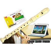 Voggenreiter Flute Master Kunststoff-Blockflöte mit barocker Griffweise