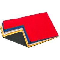 Folia 10 Bogen Bastelfilz in 10 Farben