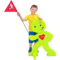 Beachtrekker Sicherheits-Verkehrsmännchen Buddy Farbe grün