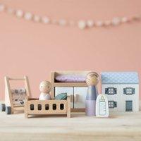 Little Dutch Puppenhaus Spielset Babyzimmer