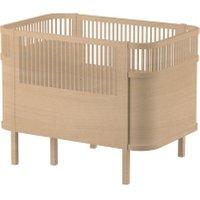 Sebra Babybett & Kinderbett mitwachsend & höhenverstellbar Wooden Edition (ab Geburt bis 6 Jahre) in natur
