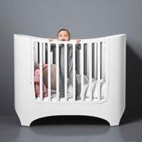 Leander Classic Babybett (von 0-7 Jahre) aus Holz inkl. Junior-Umbauset in weiß