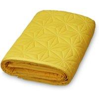 CamCam Baby-Spieldecke & Krabbeldecke aus Bio-Baumwolle (120x120 cm) in gelb
